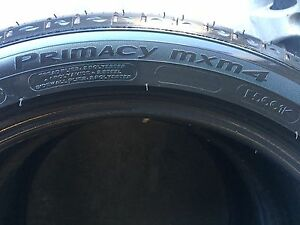 P245/45/20 x 2 NEW Michelin Primacy mxm4 tires