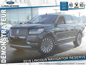 2018 Lincoln Navigator Reserve **CUIR*TOIT*NAV*MARCHEPIEDS AMOVI