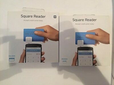 Brand New Two Square Credit Card Reader