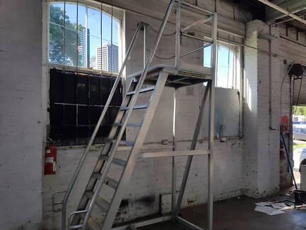 10 step platform ladder 120kg