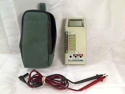 Fluke 8020a Meter Digital Multimeter With Case And Wires
