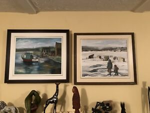 joanne fitzpatrick paintings ;oil on board ;1984;27x22;$250.00
