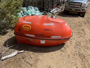 4 person ovatek life raft for sale
