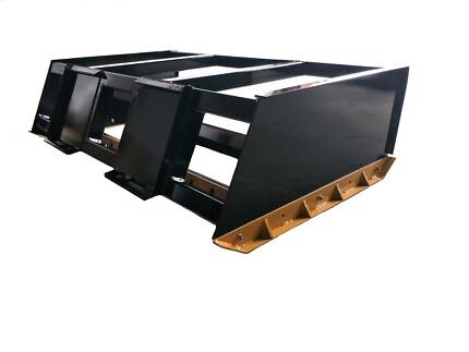 Skid steer box grader leveler smudge bar BOBCAT CATERPILLAR