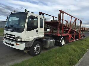 Truck With Car Carrier Work Wantirna Knox Area Preview