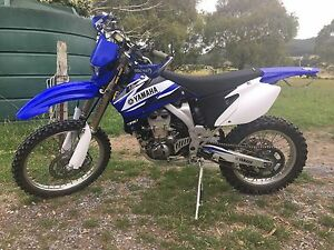 Yamaha WR450F 2007 Glengarry West Tamar Preview