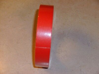 1 inch  RED MASKING TAPE - 180 foot roll Red Masking Tape