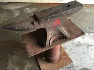 Anvil with custom stand