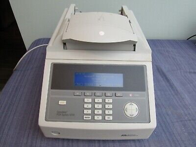 Applied Biosystems Geneamp Pcr System 9700 Thermal Cycler Works Guaranteed
