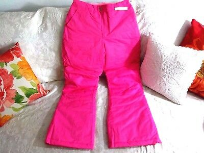 14/16 NEW Pink Fuchsia Teen Snowboard Ski Pant Insulated! (Teen Snow Pants)
