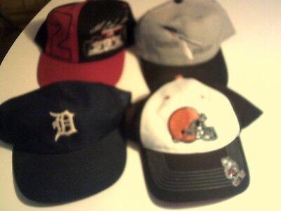 Vintage LOT OF 4 Trucker Hat/ Cap duke browns scappoose athletics 2 racing