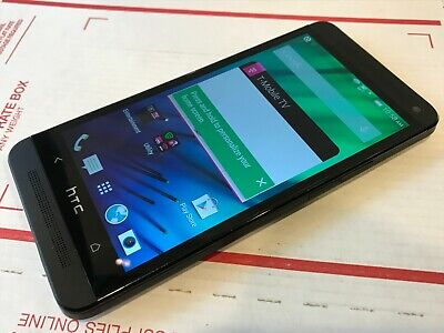 HTC One M7 - 32GB - Black (T-Mobile) Smartphone - Good Cond - Works