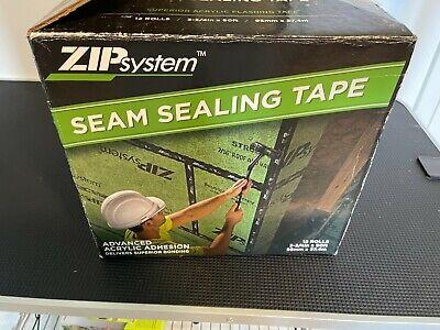 Zip System Seam Sealing Tape 4 New Rolls Flashing Best Tape  3 34 X 90