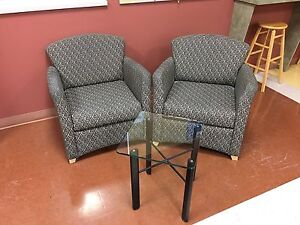 ACCENT chairs available. Like new condition