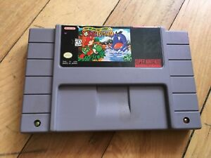 Super Mario World 2 Yoshi's Island jeu SNES game