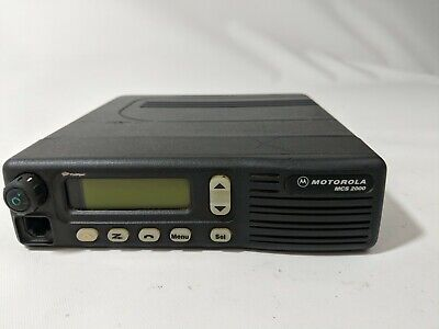 Motorola Mcs2000 800 Mhz Two Way Radio M01hx 812w