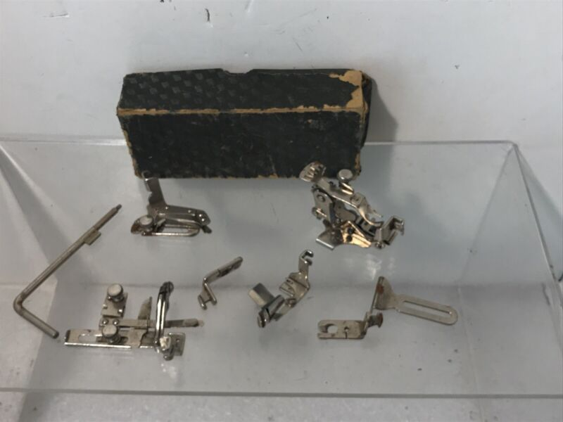 Vintage Singer Sewing Machine Attachments