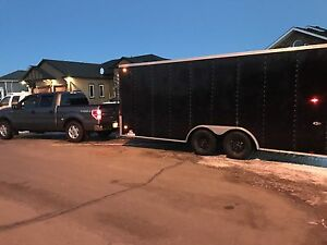 2016 Pace American 18' x 8' Enclosed Trailer