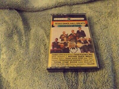 Cassette Tape Best Of Country Texas Dance Hall Greats Various Artists 1985