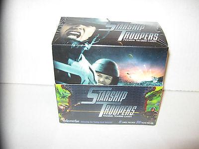 STARSHIP TROOPERS MOVIE WAX BOX 36 PACKS CARDS W/ FULL SET + INSERTS BUG WARS+