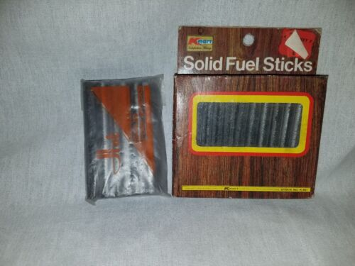 Handwarmer Vintage Solid Fuel Sticks Kmart 1960 12 pack plus more lot