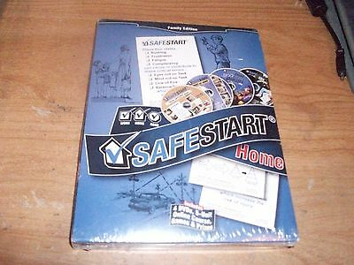 Safe Start Home Family Edition Online Course Games   Prizes  4 Dvd Set 2011  New