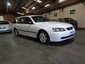 LOW KMS 2005 Ford Falcon Wagon 3 YEARS AWN WARRANTY Bentley Canning Area Preview
