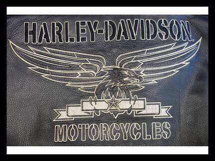 Men's Authentic Harley Davidson Squadron 3XL Leather Jacket. Norwood Norwood Area Preview