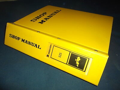 Komatsu Dresser 525 Wheel Loader Service Shop Repair Manual Oem Original