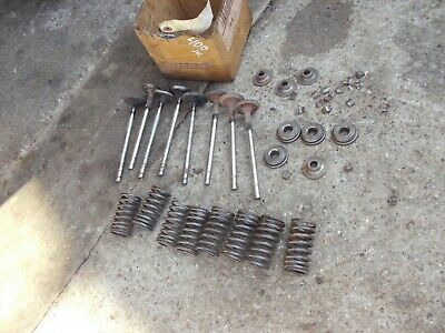 Farmall 450 400 Tractor Ihc Engine Cylinder Motor Head Valves Springs Keepers