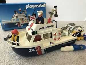 Playmobile 3599 Coast Guard with box