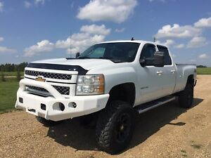 2012 CHEVROLET SILVERADO 3500 LTZ LONGBOX**LIFTED DURAMAX**