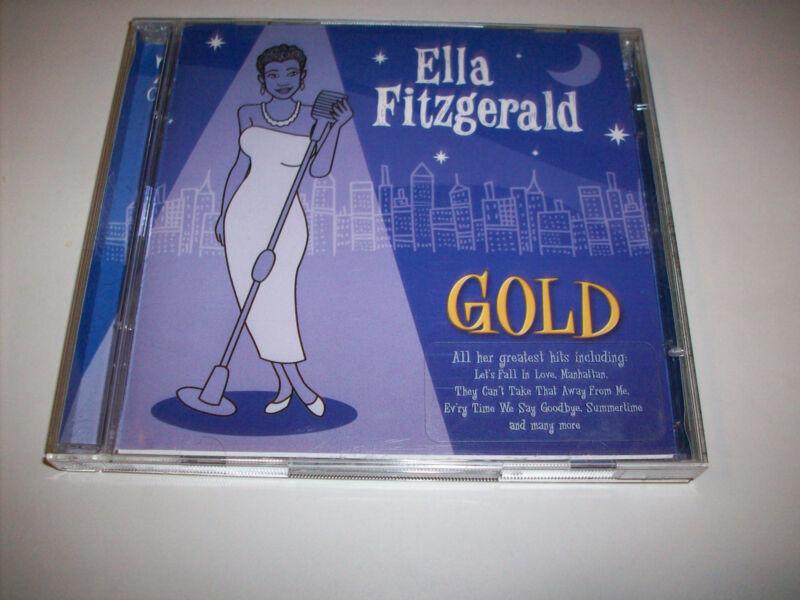 ELLA FITZGERALD - GOLD (GREATEST HITS) 2CD