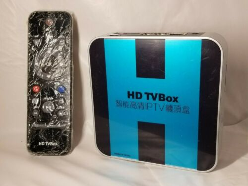 HD TVBox, IPTV, Hanyastar with English instructions