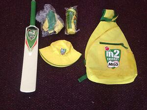 Milo cricket bag bat hat t shirt and drink bottle set Maryland Newcastle Area Preview