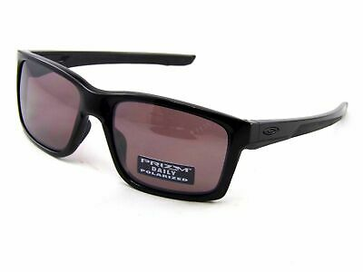 Oakley Mainlink POLARIZED Sunglasses OO9264-08 Polished Black W/ PRIZM DAILY