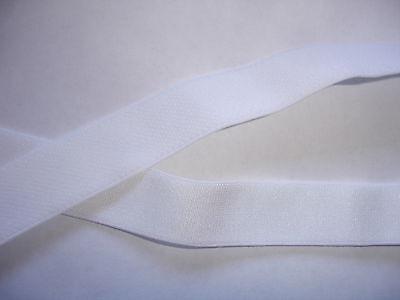 10m Gummiband 0,24€/m weiß, Trägerband 15mm breit   MP18