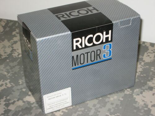 Ricoh Motor Drive 3 New Old Stock New in Box!
