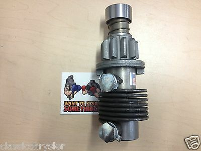 New Delco Starter Bendix Drive Tractor Farmall Farm-all Farm All 300u Fast Ship