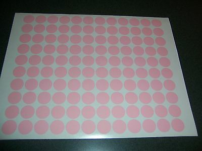 432 Pastel Pink Blank Rummage Garage Yard Sale Stickers Labels Price Tags