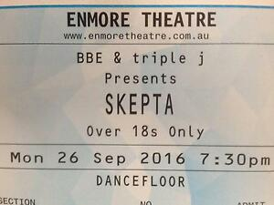 2x SKEPTA tickets DANCEFLOOR/STANDING 2nd show MONDAY 26th SEPT Wareemba Canada Bay Area Preview