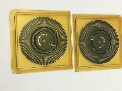 Lot Of 2 Vintage Daisy Wheel Printwheel Script 1012 Tempo Regency