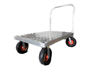 550kg Fixed Handle Heavy Duty Platform Trolley Hand Truck Cart Epping Whittlesea Area Preview