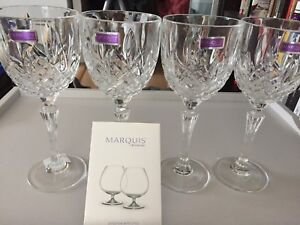 Marquis by Waterford Markham Crystal Wine Glass set of 4