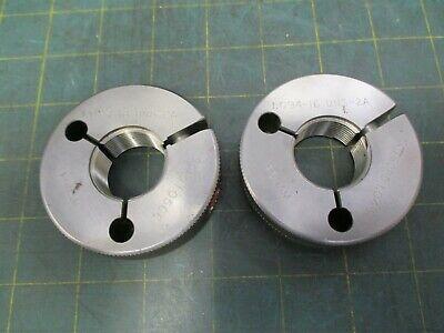Machinist Tools Ring Thread Gage Ponam 1.094 - 16 Uns 2a