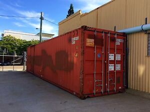 Shipping Container 40ft High Cube Hawthorne Brisbane South East Preview