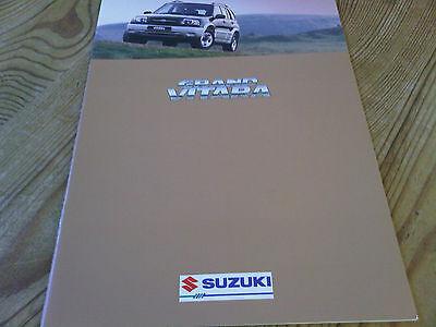 Suzuki Grand Vitara 4x4 Brochure April 1998