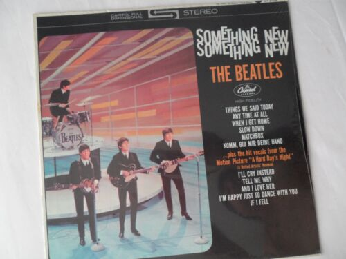 THE BEATLES Original ***SEALED*** Something New LP__Capitol ST-2108  #12  NM-
