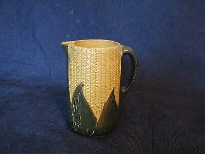 Antique McCoy Art Pottery Corn Ware Pitcher #44 Circa 1912 ()