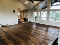 ANDY SPECIALLY INSTALLED HARDWOOD FLOORS